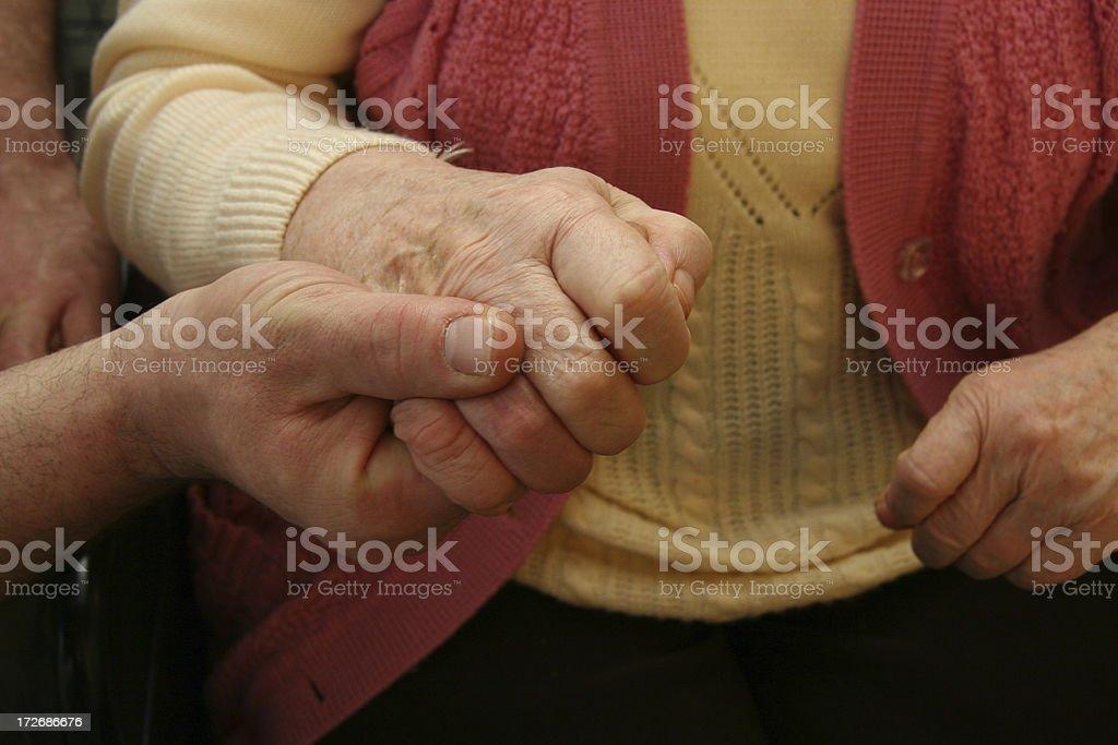 helfende Hand royalty-free stock photo
