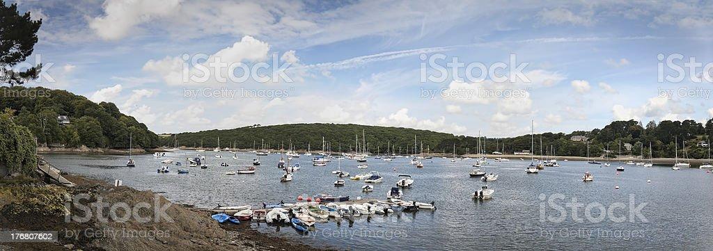 Helford River stock photo