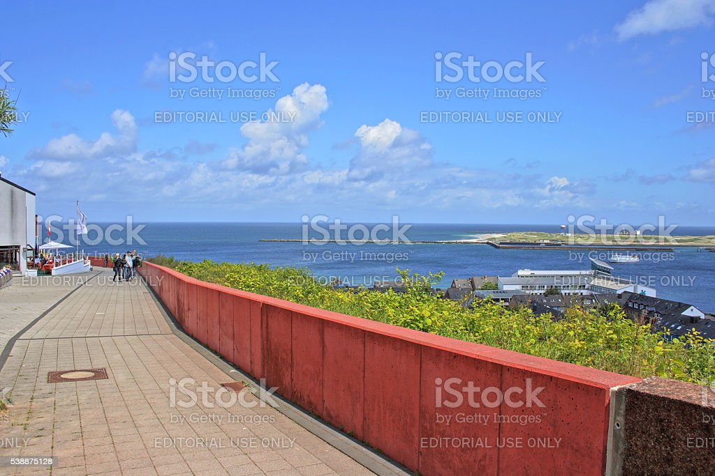Helgoland, North Sea, Germany stock photo