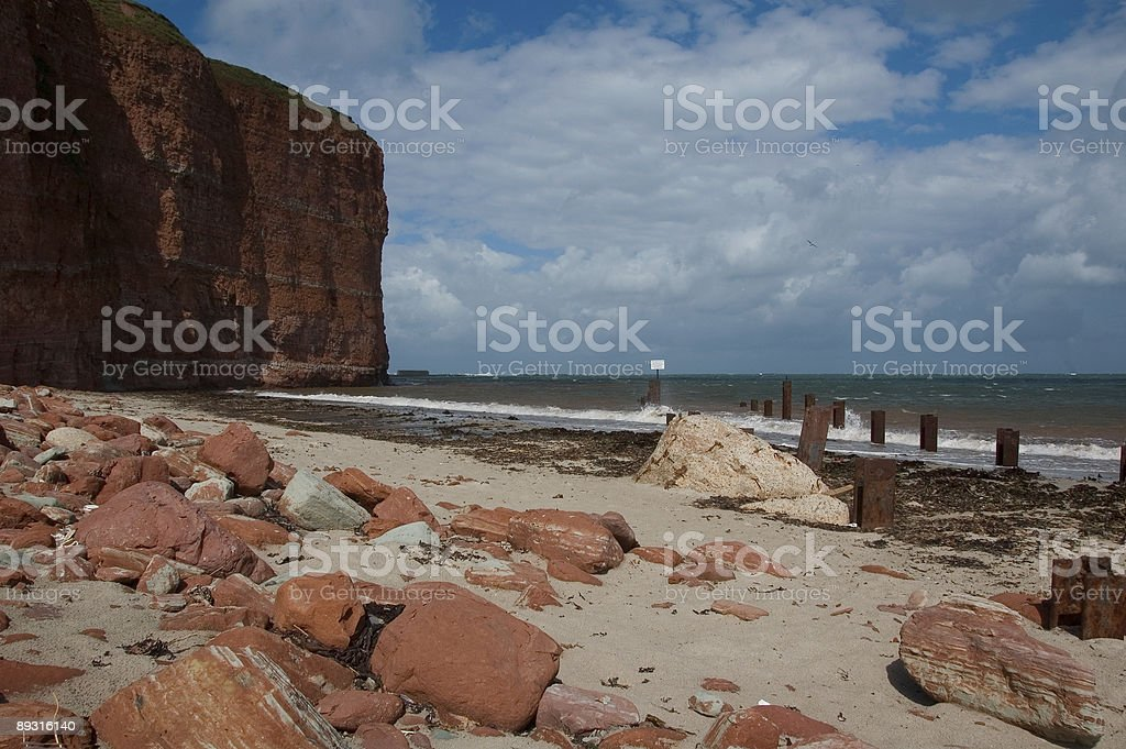 Helgoland foto royalty-free