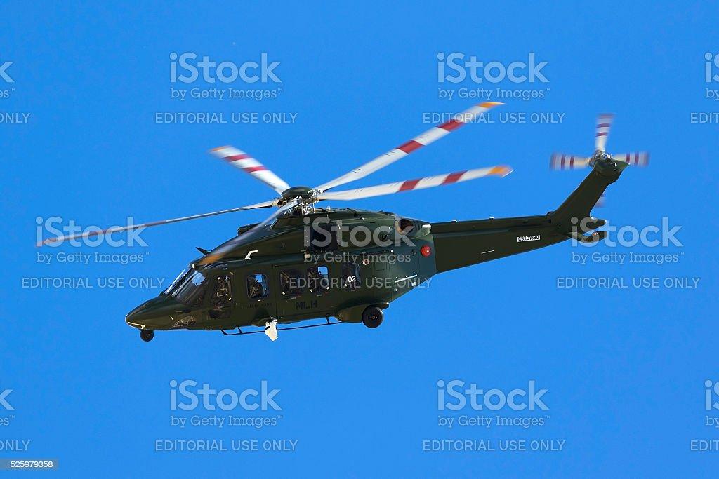 Helicoper dubbed 'Italian Hawk' stock photo