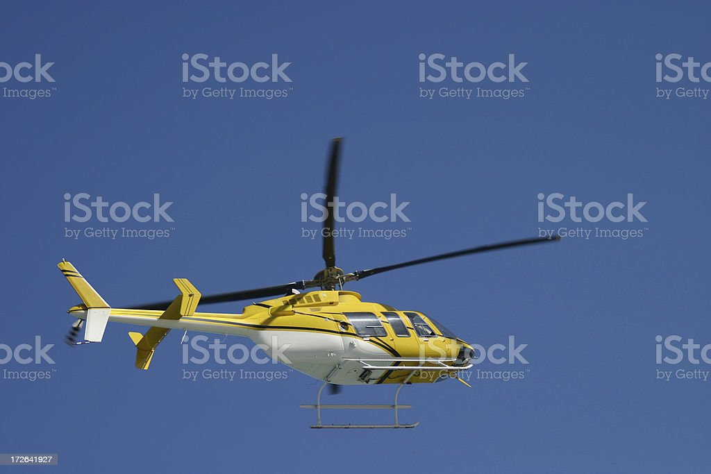 Helicopter 3 royalty-free stock photo
