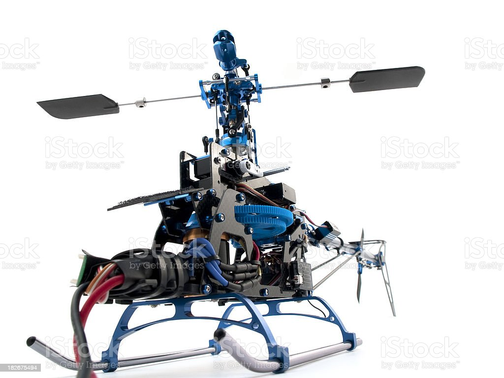 Helicopter build royalty-free stock photo