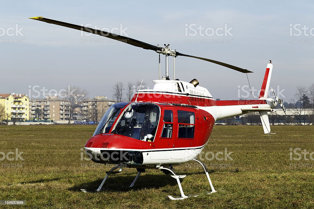 Helicopter. Color Image royalty-free stock photo