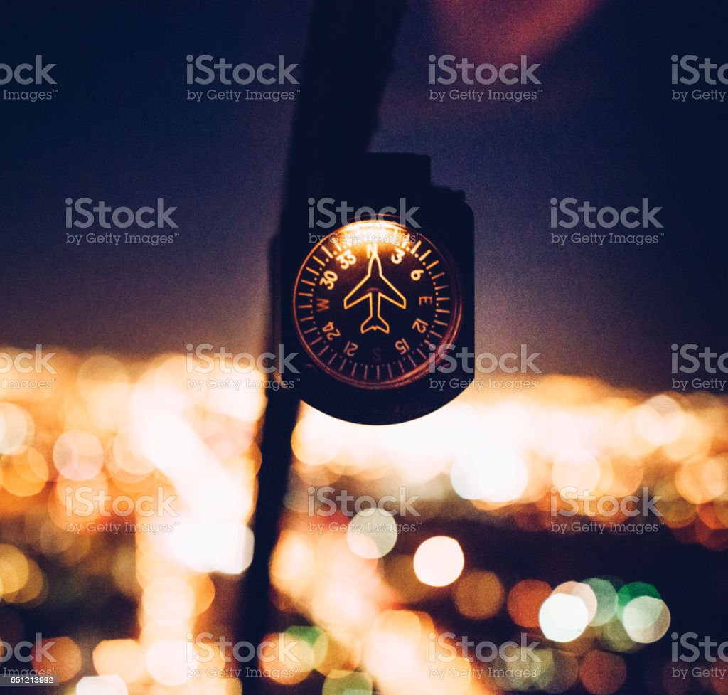 helicopter dashboard stock photo