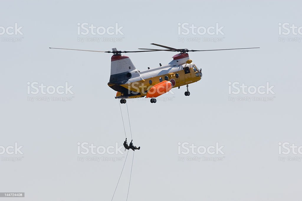 Helicopter demonstration royalty-free stock photo