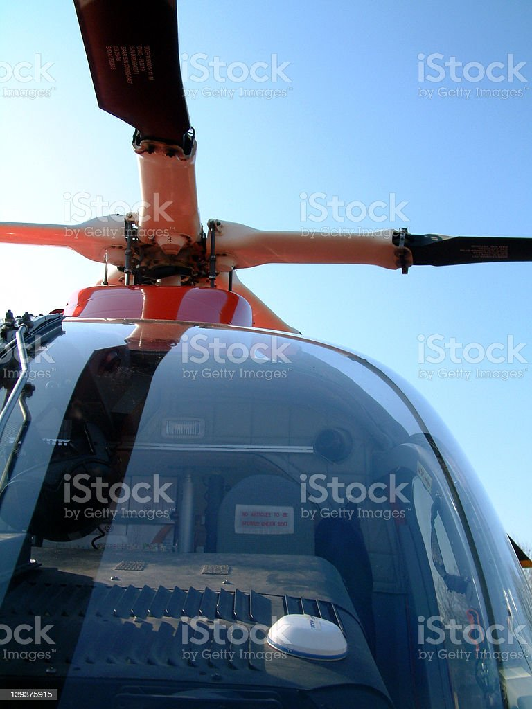 Helicopter Detail : 01 royalty-free stock photo