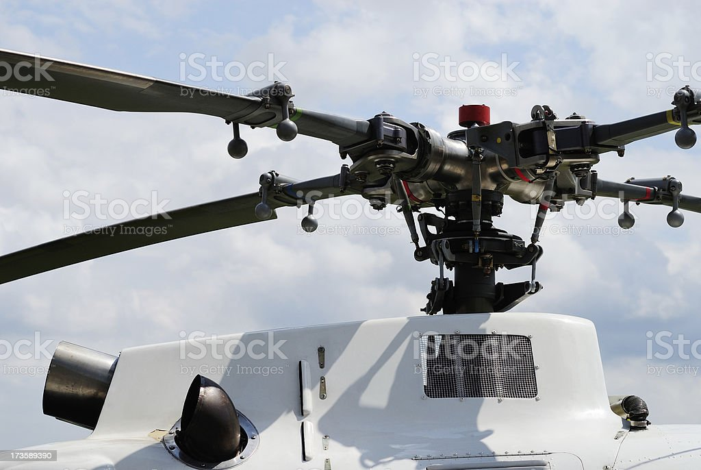 Helicopter Detail royalty-free stock photo