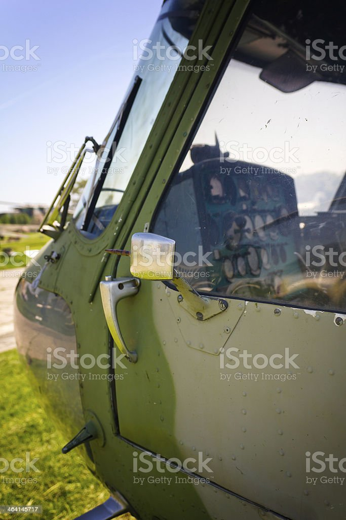 Helicopter Mi-2M stock photo