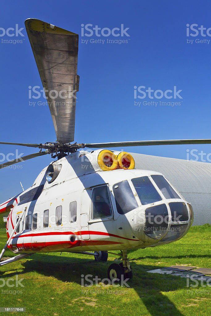 Helicopter Mi-8S royalty-free stock photo