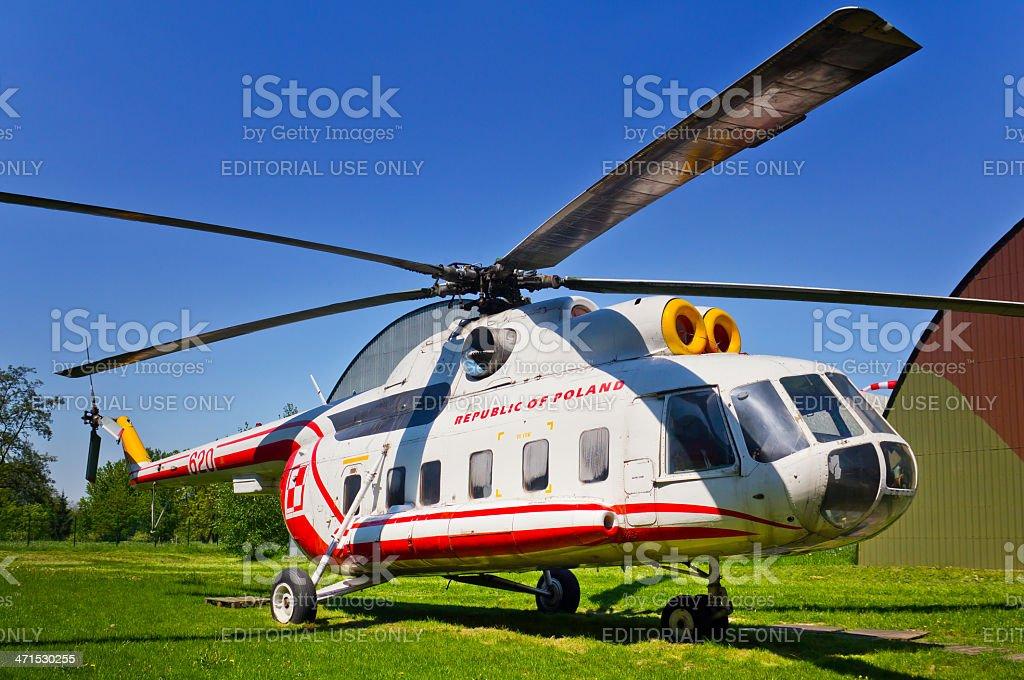 Helicopter Mi-8S stock photo