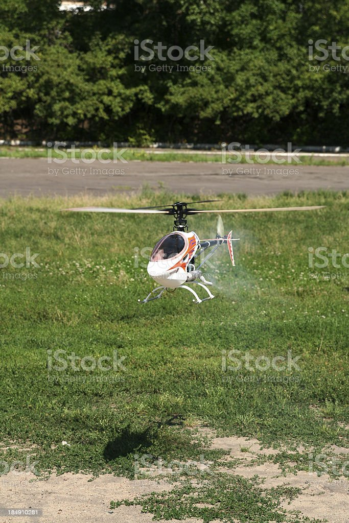 helicopter model royalty-free stock photo