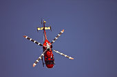 Helicopter performing at Aero India 2015
