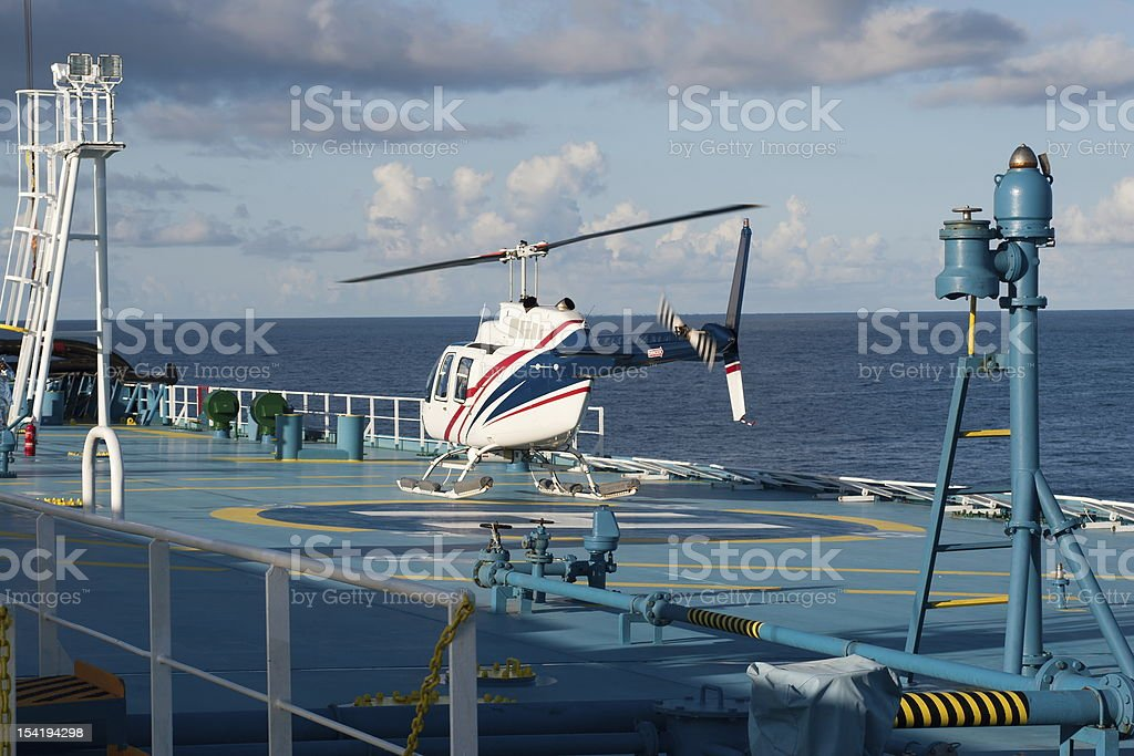Helicopter royalty-free stock photo