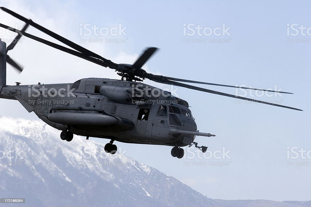 CH53 Helicopter royalty-free stock photo