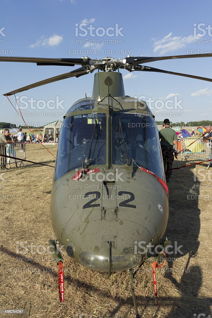 AW139 helicopter stock photo