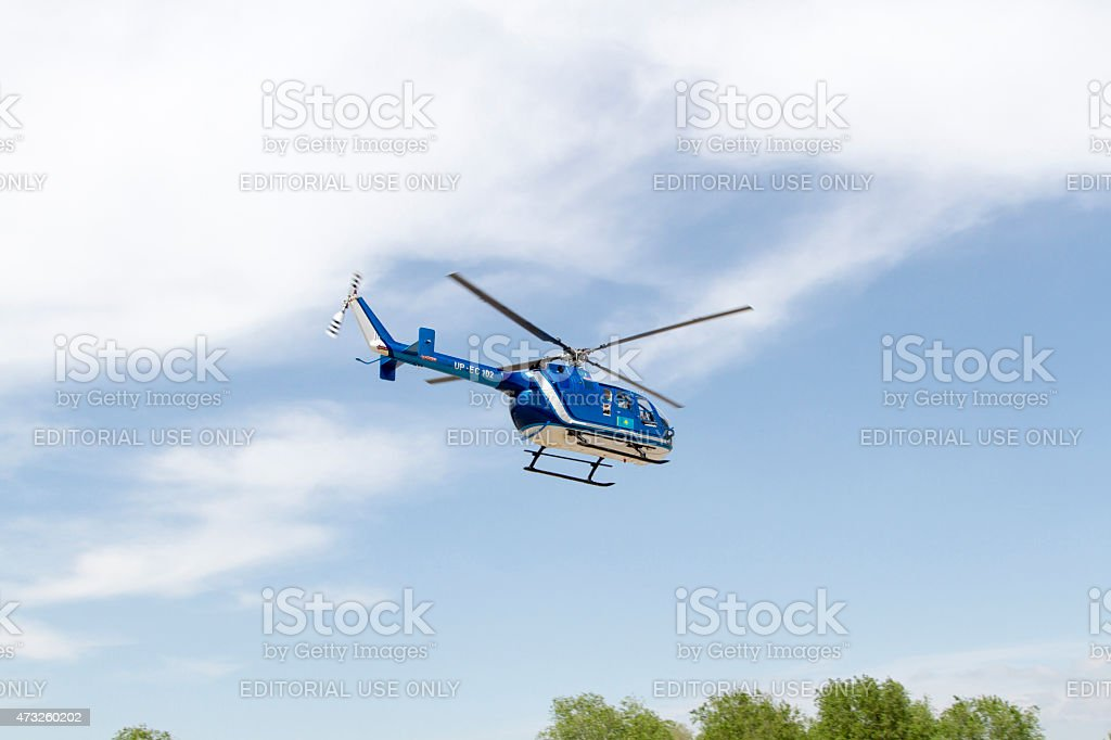 helicopter stock photo
