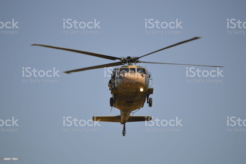UH 60 Helicopter stock photo