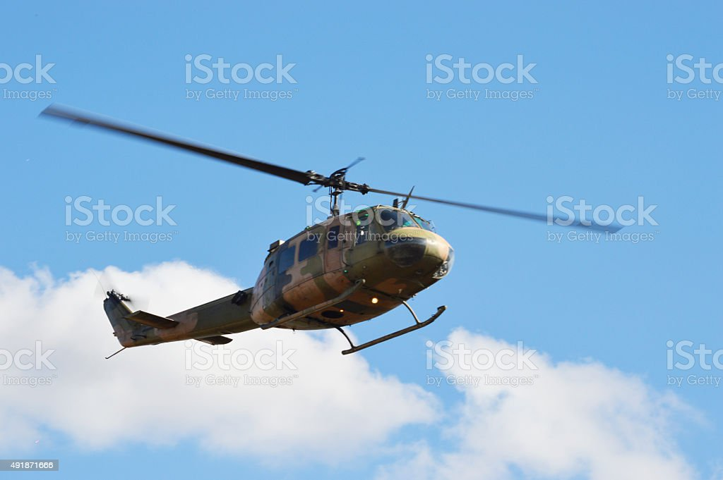 UH 1 Helicopter stock photo