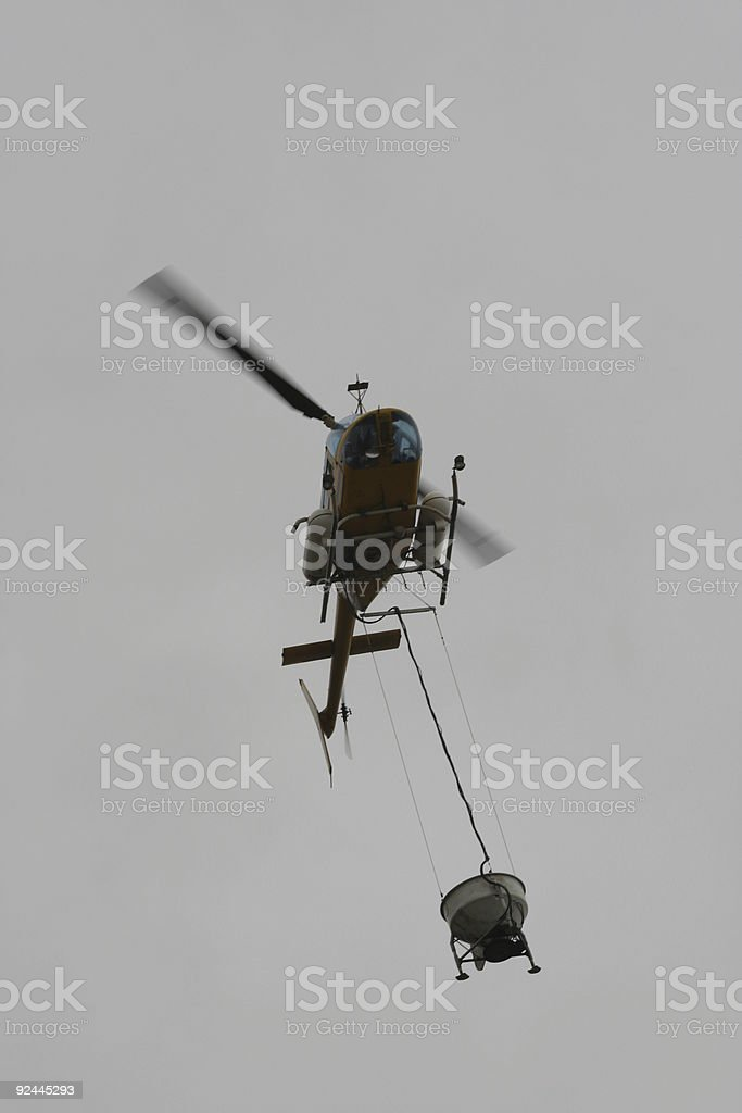 Helicopter #2 stock photo