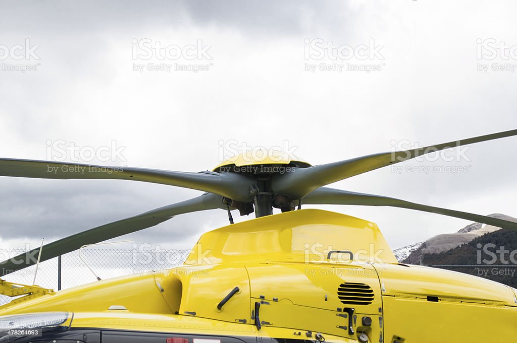 helicopter propellers top royalty-free stock photo