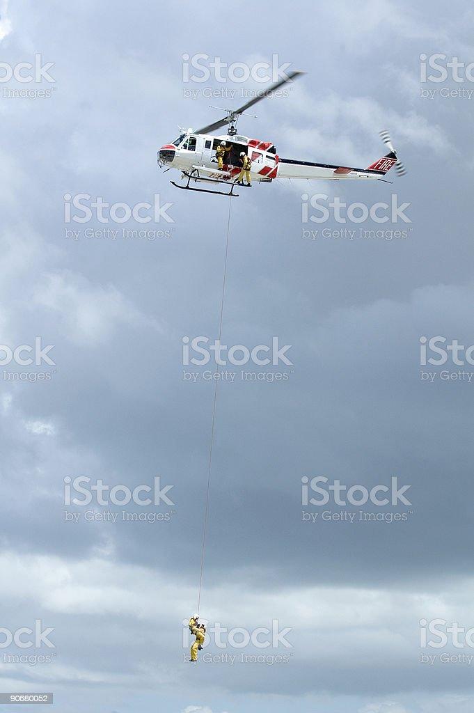 Serie elicottero di salvataggio foto stock royalty-free