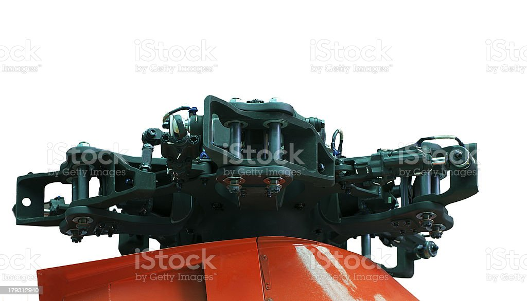 Helicopter rotor royalty-free stock photo