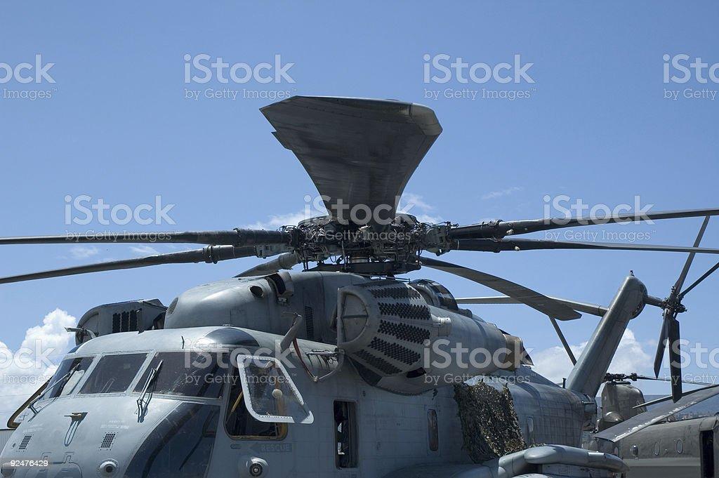 Elicottero rotore foto stock royalty-free