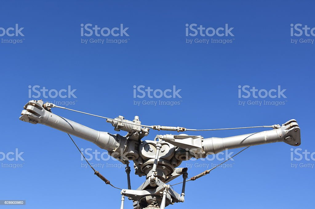 Helicopter Rotter stock photo