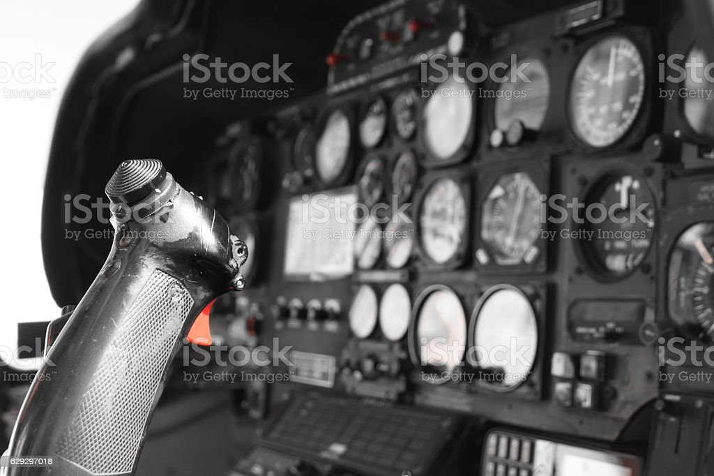 helicopter Stick stock photo