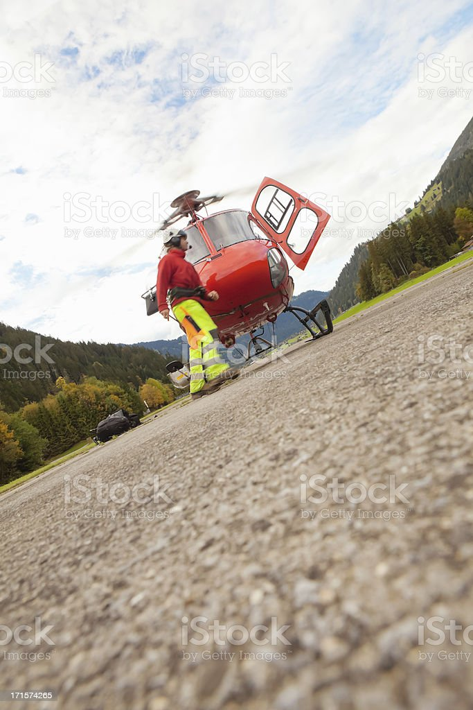 Helicopter Transport royalty-free stock photo