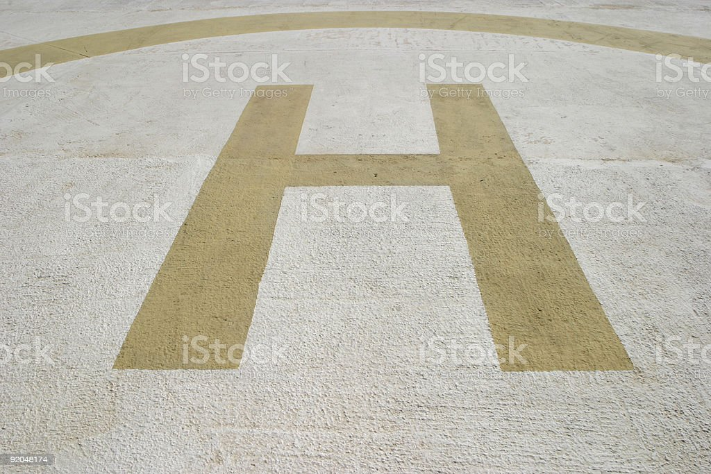 Heliport royalty-free stock photo