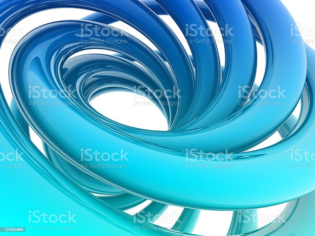 helix shape royalty-free stock photo