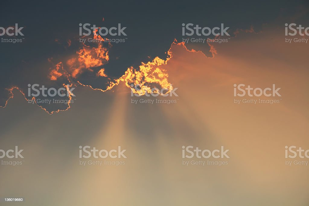 Hell Fire and Brimstone royalty-free stock photo