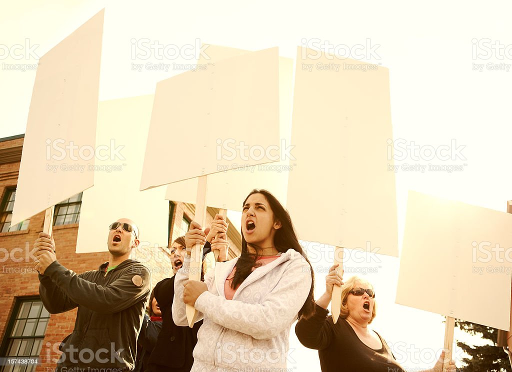 Hell No! stock photo