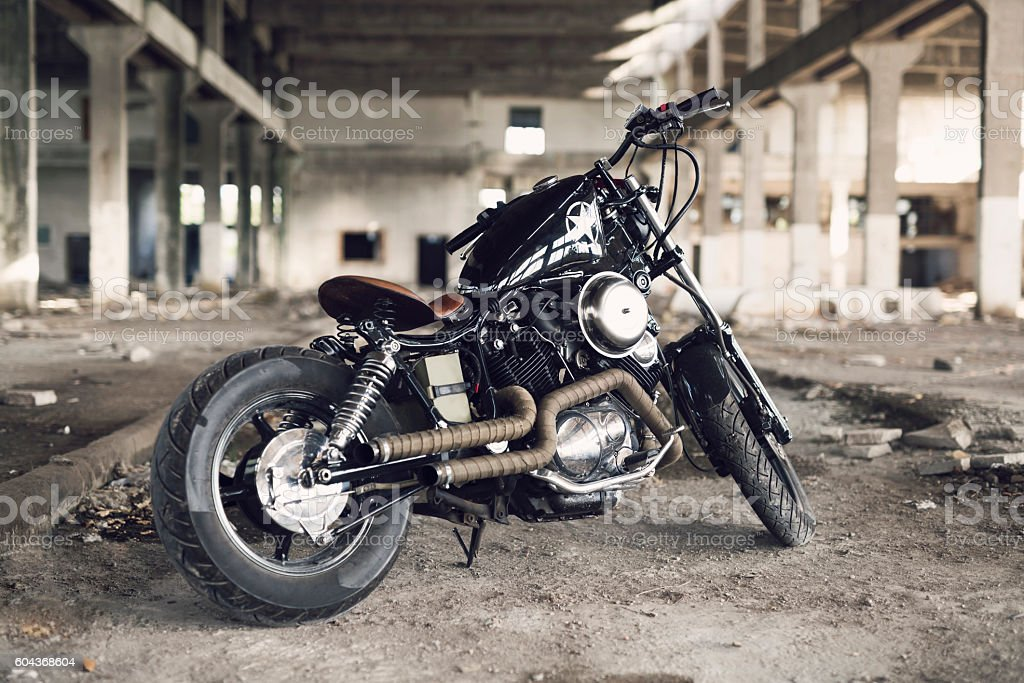Hell On Two Wheels stock photo