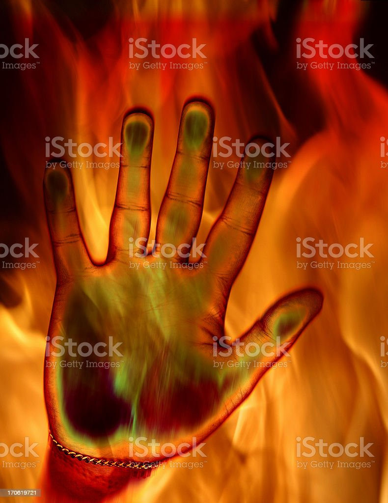 Hell - Raging Fire royalty-free stock photo