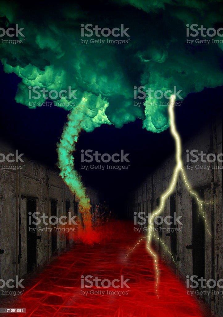 Hell Road of Bondage royalty-free stock photo