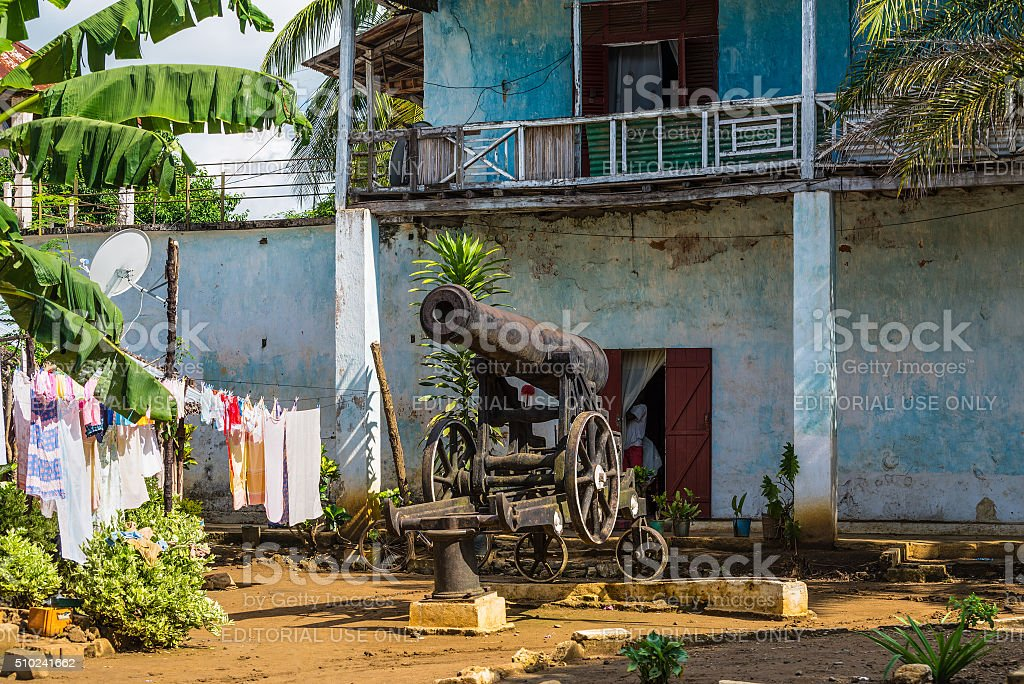 Hell Ville, Nosy Be, Madagascar stock photo