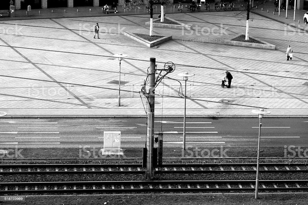 Hellersdorf central stock photo