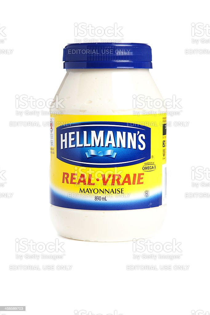 Hellmann's Real Mayonnaise stock photo