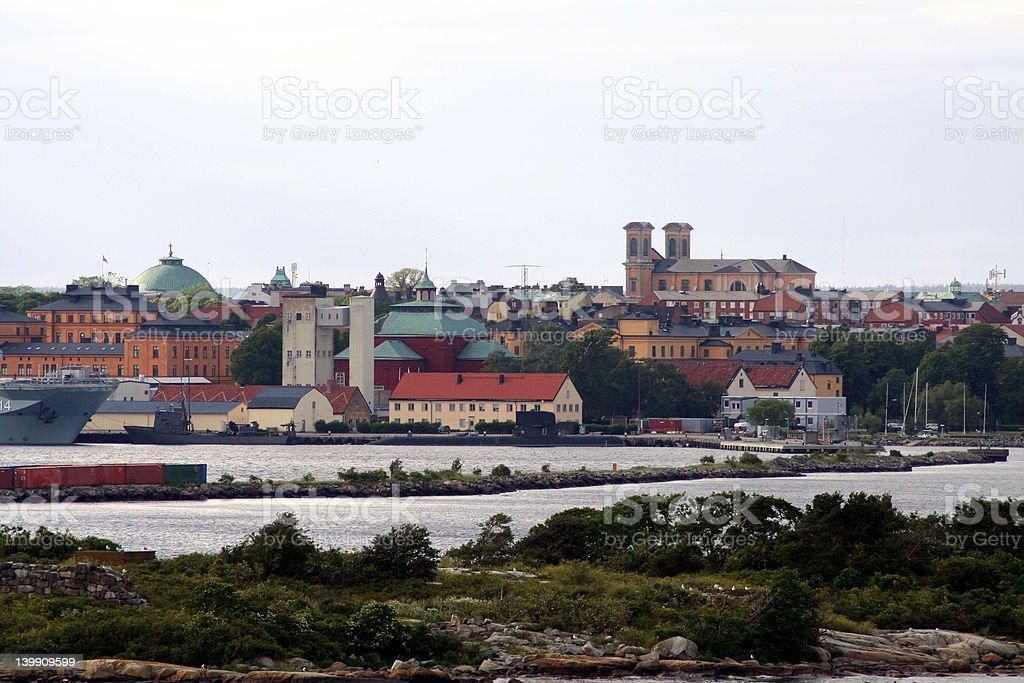 Hello Karlskrona royalty-free stock photo