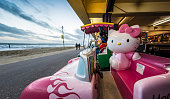 Hello Kitty Ride on Bournemouth Seafront