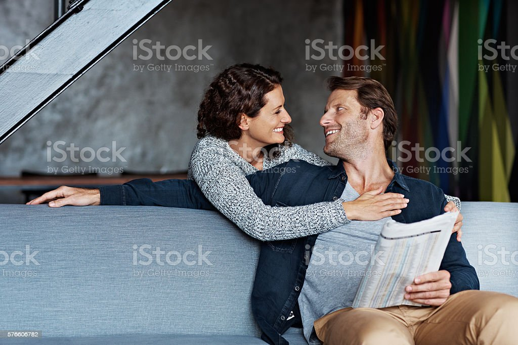 Hello my love! stock photo