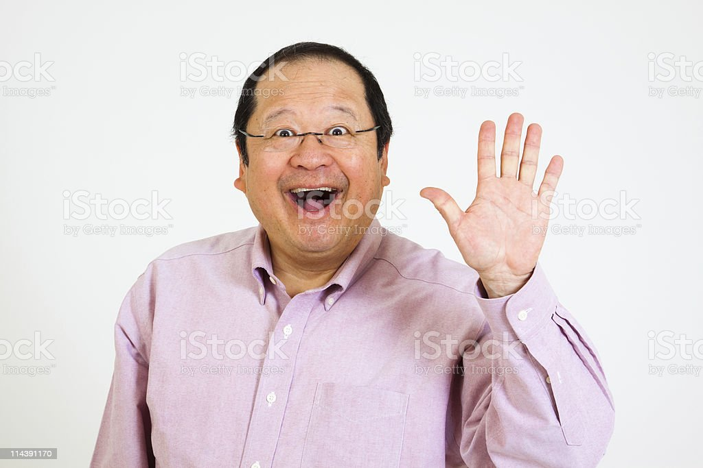 Hello royalty-free stock photo