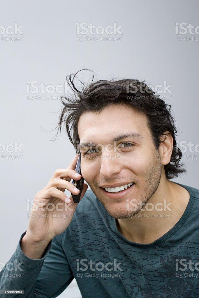 Hello? royalty-free stock photo