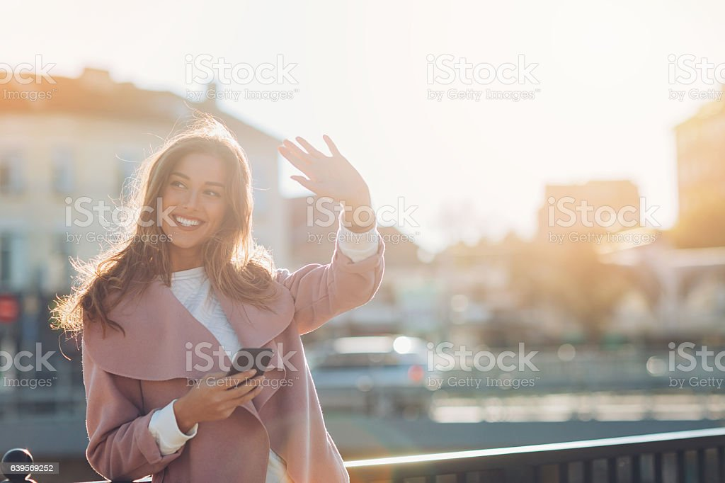 Hello! stock photo