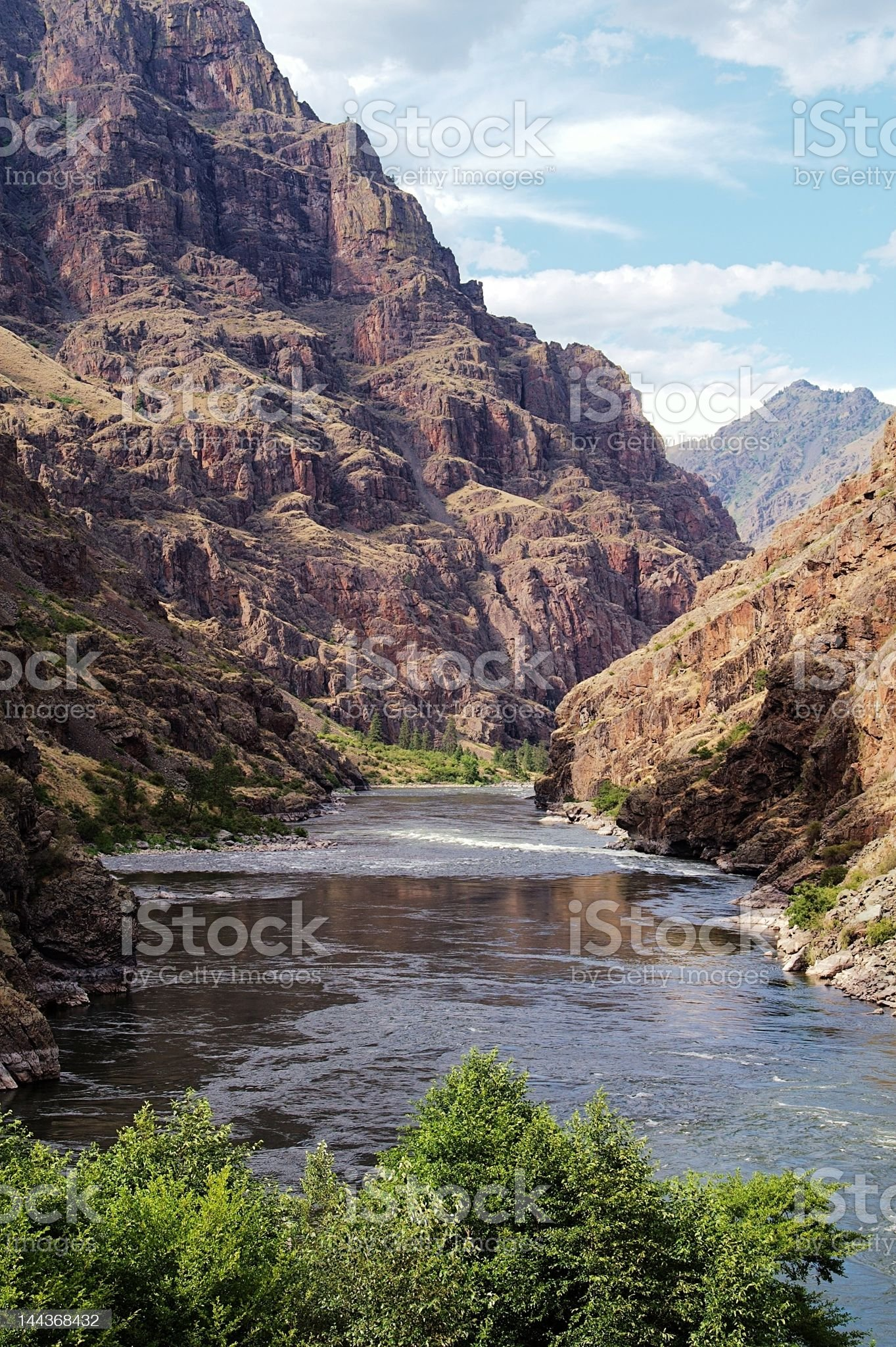 Hell's Canyon in Summer royalty-free stock photo