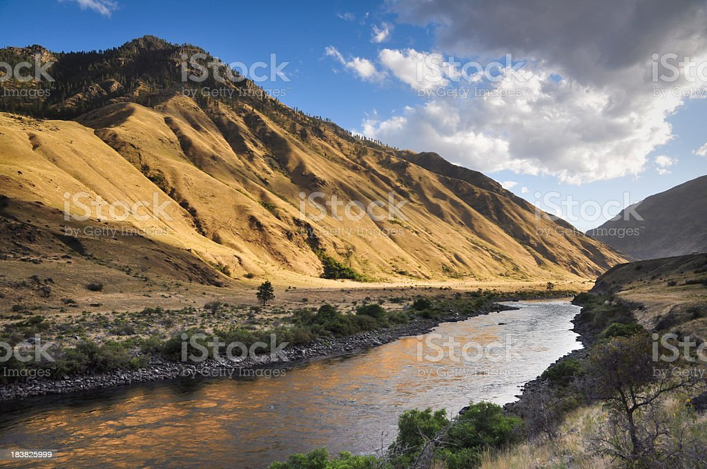 Hells Canyon Landscape stock photo