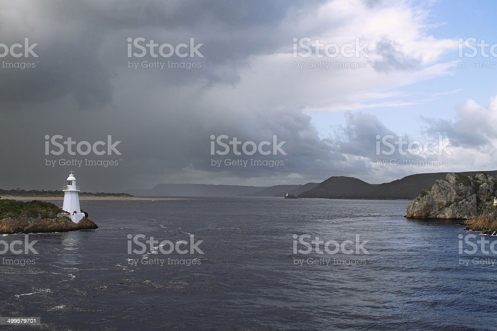 Hells Gate. stock photo